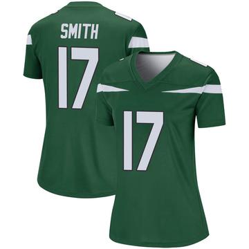 Women's Nike New York Jets Vyncint Smith Gotham Green Player Jersey - Legend