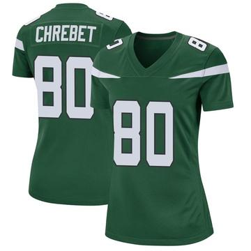 Women's Nike New York Jets Wayne Chrebet Gotham Green Jersey - Game