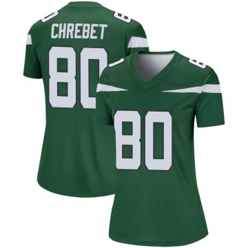 Women's Nike New York Jets Wayne Chrebet Gotham Green Player Jersey - Legend