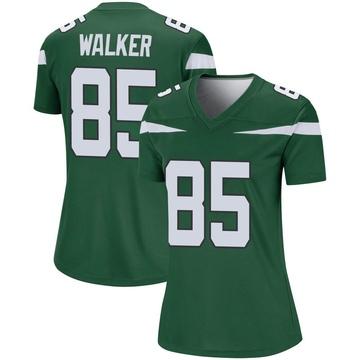 Women's Nike New York Jets Wesley Walker Gotham Green Player Jersey - Legend
