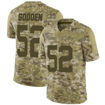 Youth Nike New York Jets Ahmad Gooden Camo 2018 Salute to Service Jersey - Limited