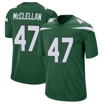 Youth Nike New York Jets Albert McClellan Gotham Green Jersey - Game