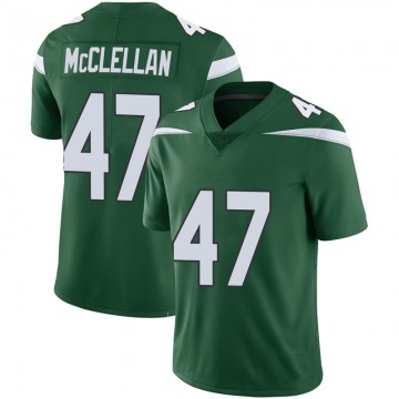 Youth Nike New York Jets Albert McClellan Green 100th Vapor Jersey - Limited