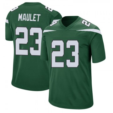 Youth Nike New York Jets Arthur Maulet Gotham Green Jersey - Game