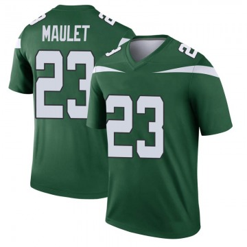 Youth Nike New York Jets Arthur Maulet Gotham Green Player Jersey - Legend