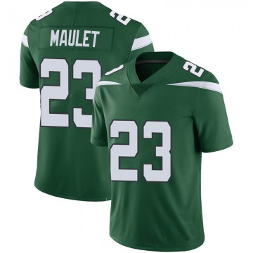 Youth Nike New York Jets Arthur Maulet Green 100th Vapor Jersey - Limited