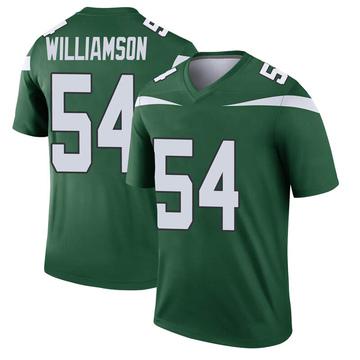 Youth Nike New York Jets Avery Williamson Gotham Green Player Jersey - Legend
