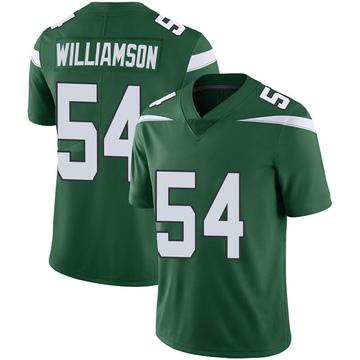Youth Nike New York Jets Avery Williamson Gotham Green Vapor Jersey - Limited