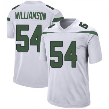 Youth Nike New York Jets Avery Williamson Spotlight White Jersey - Game