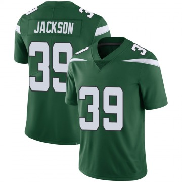 Youth Nike New York Jets Bennett Jackson Green 100th Vapor Jersey - Limited