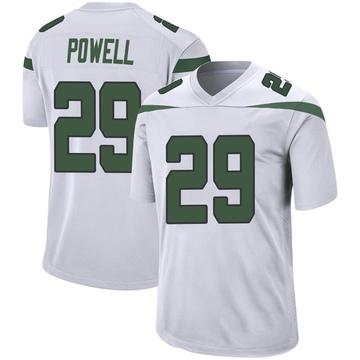 Youth Nike New York Jets Bilal Powell Spotlight White Jersey - Game