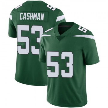 Youth Nike New York Jets Blake Cashman Green 100th Vapor Jersey - Limited