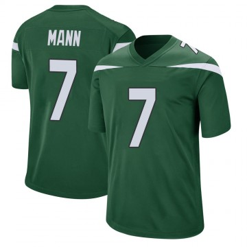 Youth Nike New York Jets Braden Mann Gotham Green Jersey - Game
