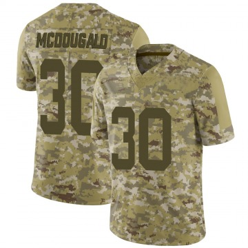 Youth Nike New York Jets Bradley McDougald Camo 2018 Salute to Service Jersey - Limited