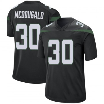 Youth Nike New York Jets Bradley McDougald Stealth Black Jersey - Game