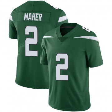 Youth Nike New York Jets Brett Maher Gotham Green Vapor Jersey - Limited
