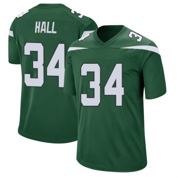 Youth Nike New York Jets Bryce Hall Gotham Green Jersey - Game