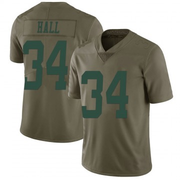 Youth Nike New York Jets Bryce Hall Green 2017 Salute to Service Jersey - Limited