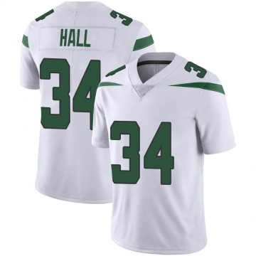 Youth Nike New York Jets Bryce Hall Spotlight White Vapor Jersey - Limited