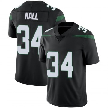 Youth Nike New York Jets Bryce Hall Stealth Black Vapor Jersey - Limited