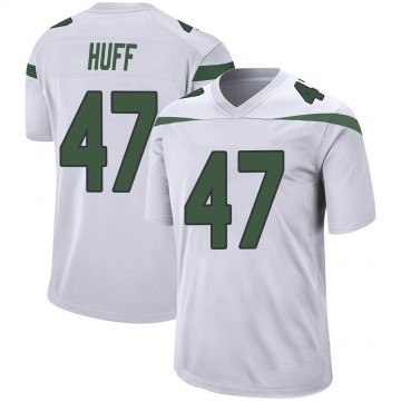 Youth Nike New York Jets Bryce Huff Spotlight White Jersey - Game