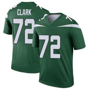 Youth Nike New York Jets Cameron Clark Gotham Green Player Jersey - Legend