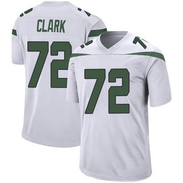 Youth Nike New York Jets Cameron Clark Spotlight White Jersey - Game
