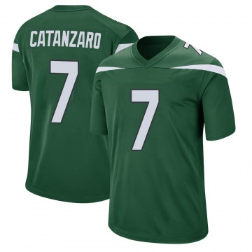Youth Nike New York Jets Chandler Catanzaro Gotham Green Jersey - Game
