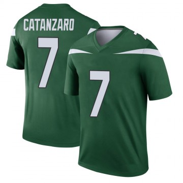 Youth Nike New York Jets Chandler Catanzaro Gotham Green Player Jersey - Legend
