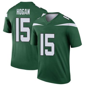 Youth Nike New York Jets Chris Hogan Gotham Green Player Jersey - Legend
