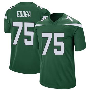 Youth Nike New York Jets Chuma Edoga Gotham Green Jersey - Game