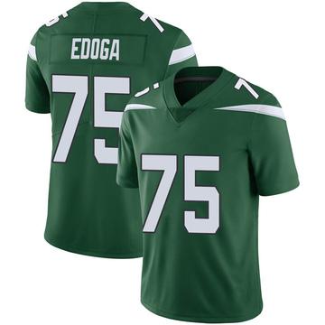 Youth Nike New York Jets Chuma Edoga Gotham Green Vapor Jersey - Limited