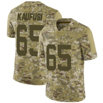 Youth Nike New York Jets Corbin Kaufusi Camo 2018 Salute to Service Jersey - Limited