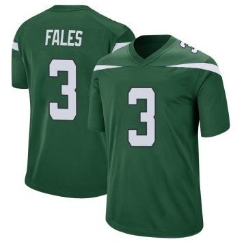 Youth Nike New York Jets David Fales Gotham Green Jersey - Game