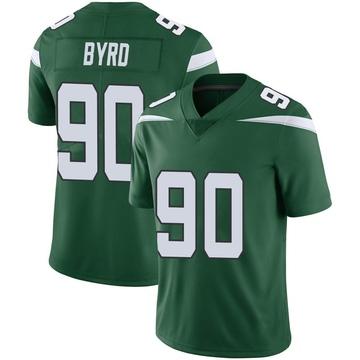 Youth Nike New York Jets Dennis Byrd Gotham Green Vapor Jersey - Limited