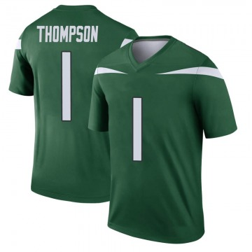 Youth Nike New York Jets Deonte Thompson Gotham Green Player Jersey - Legend