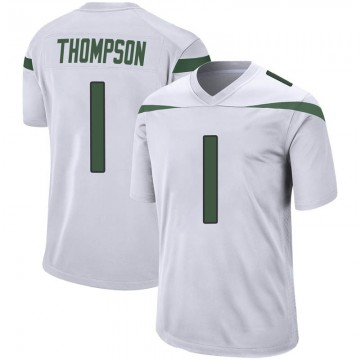 Youth Nike New York Jets Deonte Thompson Spotlight White Jersey - Game