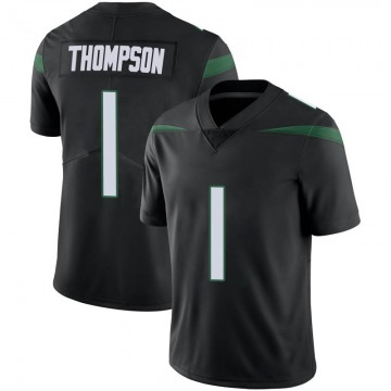 Youth Nike New York Jets Deonte Thompson Stealth Black Vapor Jersey - Limited