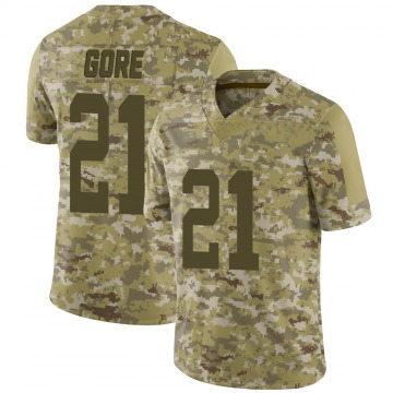 Youth Nike New York Jets Frank Gore Camo 2018 Salute to Service Jersey - Limited