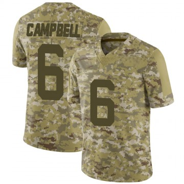 Youth Nike New York Jets George Campbell Camo 2018 Salute to Service Jersey - Limited