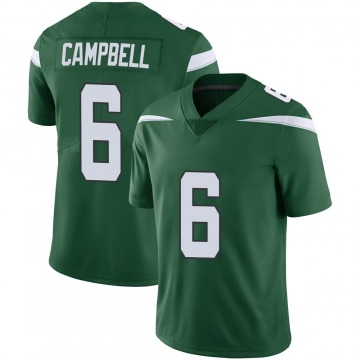 Youth Nike New York Jets George Campbell Gotham Green Vapor Jersey - Limited