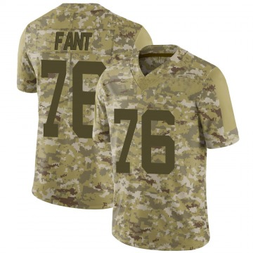 Youth Nike New York Jets George Fant Camo 2018 Salute to Service Jersey - Limited