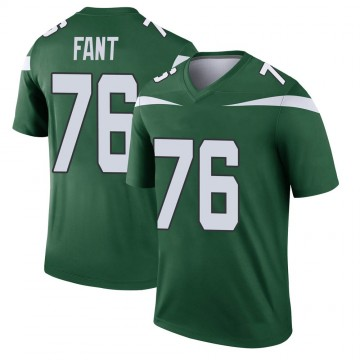 Youth Nike New York Jets George Fant Gotham Green Player Jersey - Legend