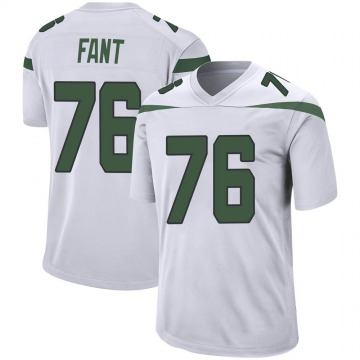 Youth Nike New York Jets George Fant Spotlight White Jersey - Game