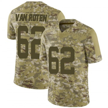 Youth Nike New York Jets Greg Van Roten Camo 2018 Salute to Service Jersey - Limited