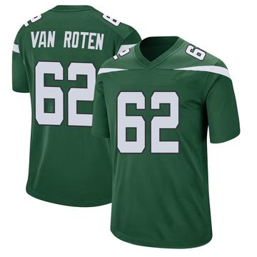 Youth Nike New York Jets Greg Van Roten Gotham Green Jersey - Game