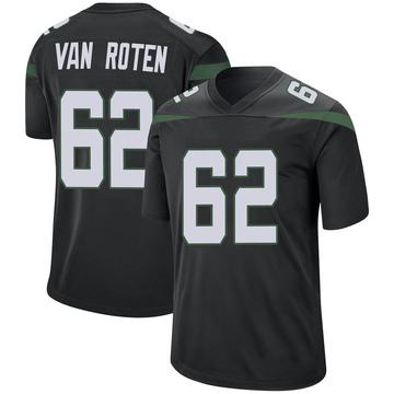 Youth Nike New York Jets Greg Van Roten Stealth Black Jersey - Game