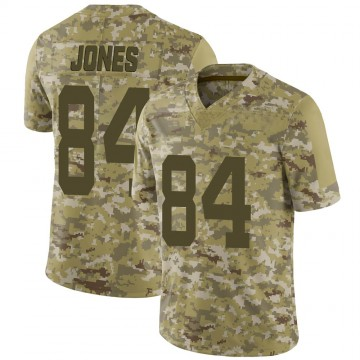 Youth New York Jets J.J. Jones Camo 2018 Salute to Service Jersey - Limited