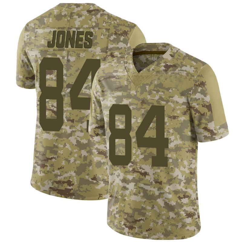 Youth Nike New York Jets J.J. Jones Camo 2018 Salute to Service Jersey - Limited