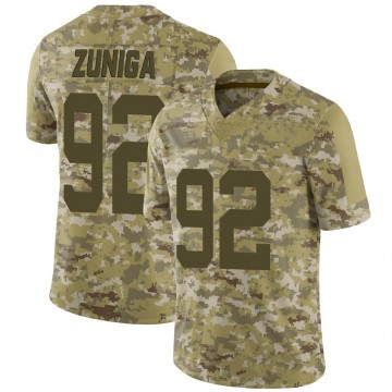 Youth Nike New York Jets Jabari Zuniga Camo 2018 Salute to Service Jersey - Limited